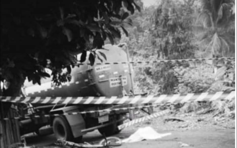 Mulher é atropelada por caminhão-pipa e morre na barra do bugres