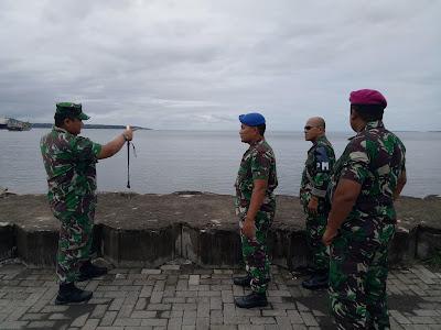 Lantamal VIII Manado Bersama Pemkab Minsel Mantapkan Pelaksanaan Hari Dharma Samudra TNI-AL