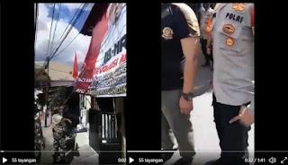Waduh, Baliho HRS yang Dipasang di Rumah Sendiri Juga Dicopot Aparat