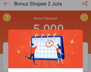 Cara ikut event shopee bonus 2 juta