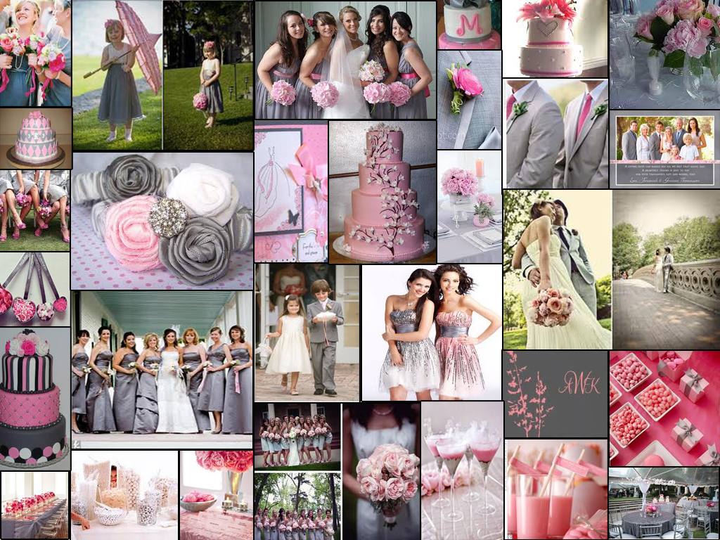 wedding ideas pink and grey journey to forever wedding theme and motif 28285