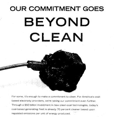 L'industrie du charbon lave plus blanc que blanc