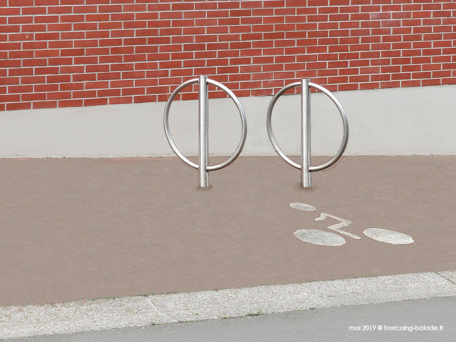 Arceaux Vélos - Archives municipales de Tourcoing