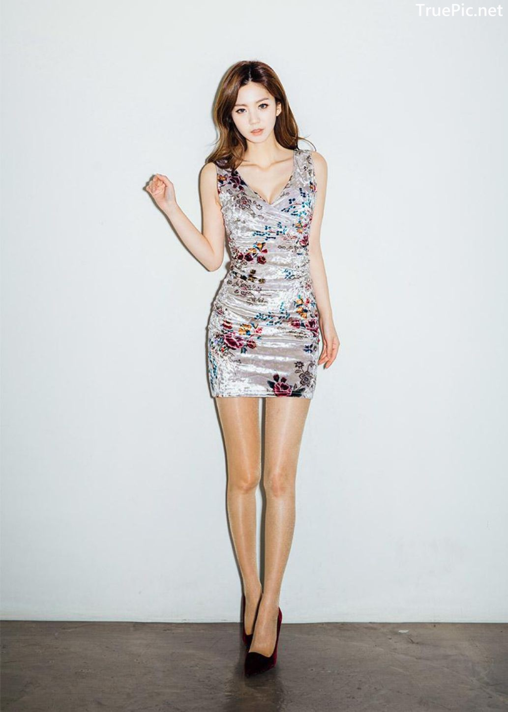 Image-Korean-Fashion-Model-Lee-Chae-Eun-Ready-For-The-Party-Evening-Wear-TruePic.net- Picture-5