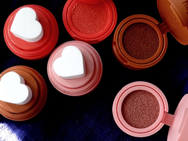 Kaja Beauty Cheeky Stamp Blendable Blush | New Shades - Spicy, Sassy, Flirty