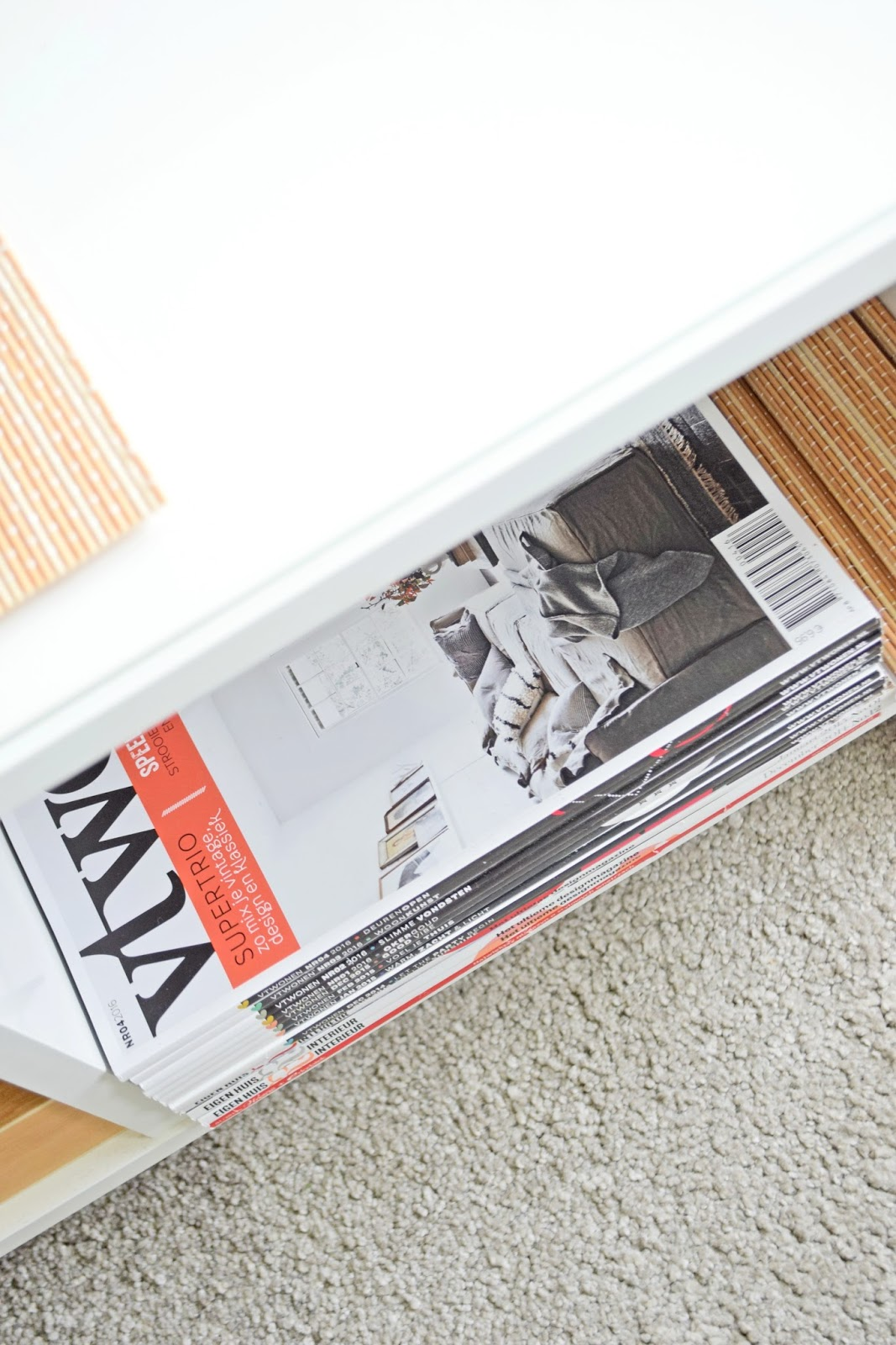 Displaying newspapers and magazines | Cleo-inspire