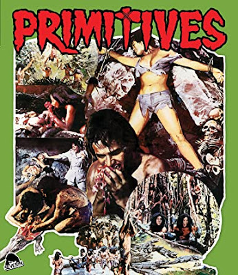 Blu-ray cover for Severin Films' PRIMITIVES.
