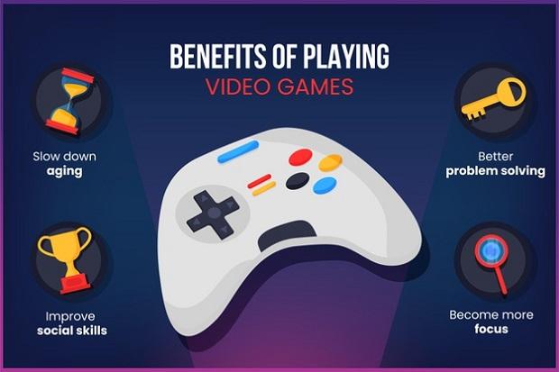 Mental advantages of video games
