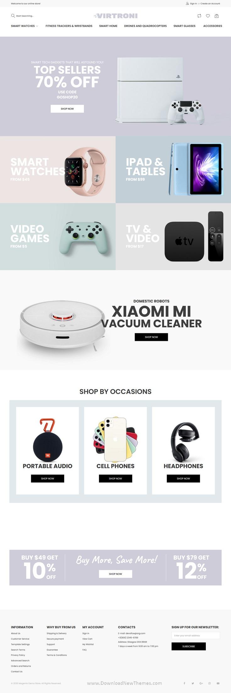 Smart Electronics Store Magento 2 Theme
