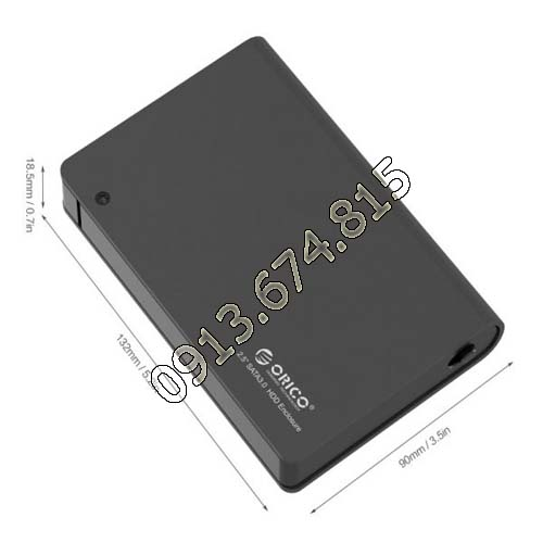 Hộp đựng ổ cứng laptop Orico 2598S3