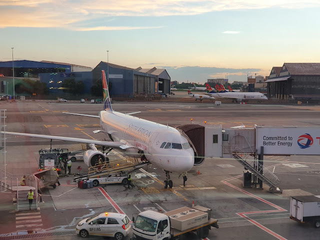 Blog Apaixonados por Viagens - Como é voar com a Fly South African Airways - Fly Saa