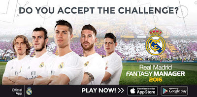Real Madrid Fantasy Manager Wallpaper