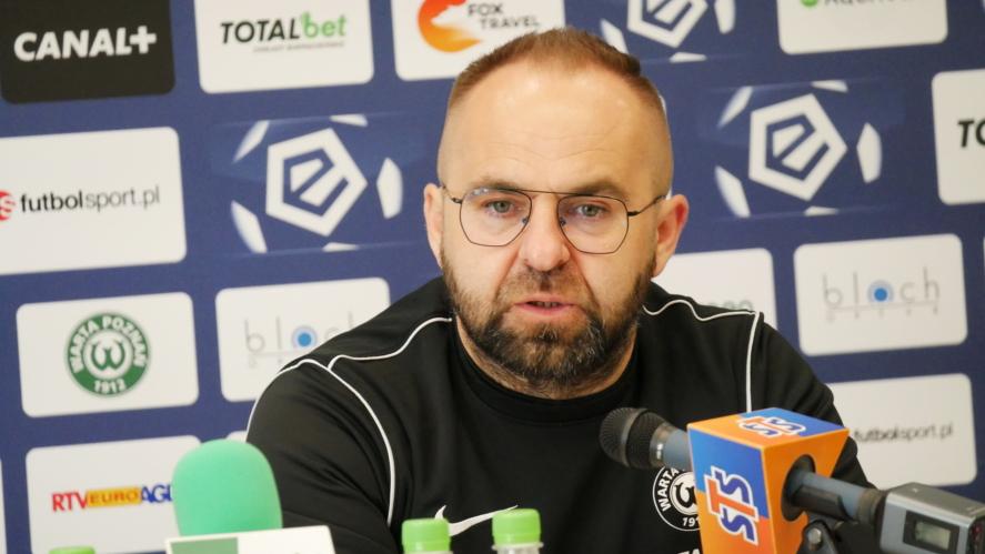 Trener Piotr Tworek | foto: Piotrek Przyborowski / aosporcie.pl