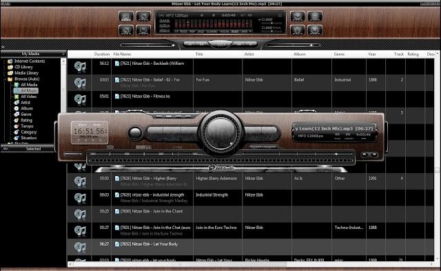 JetAudio 8.1.3 Plus + español + Pack de Skins [Ultima versión del veterano y excelente reproductor de audio]