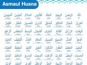 Tulisan Arab Asmaul Husna dan Artinya: 99 Nama Allah Beserta Harakat