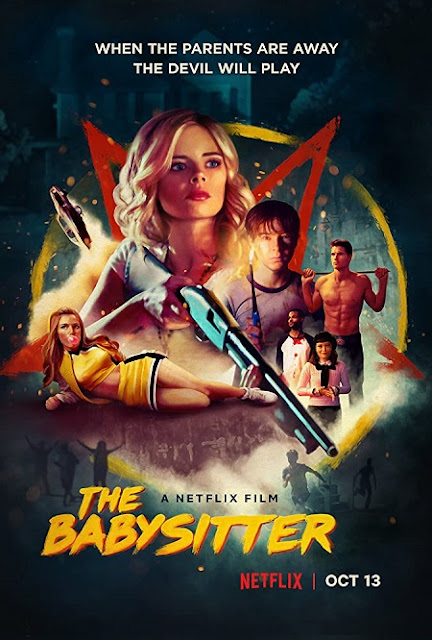 The Babysitter 2017 Dual Audio Hindi 450MB HDRip 720p HEVC x265 Download