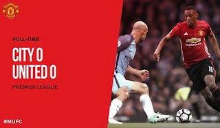 Manchester City vs Manchester United 0-0