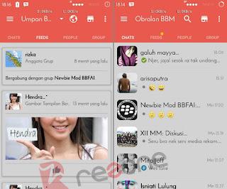 Download BBM MOD RedGrey V2.12.0.11