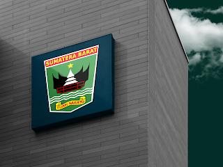desain papan nama logo provinsi sumatera barat - kanalmu