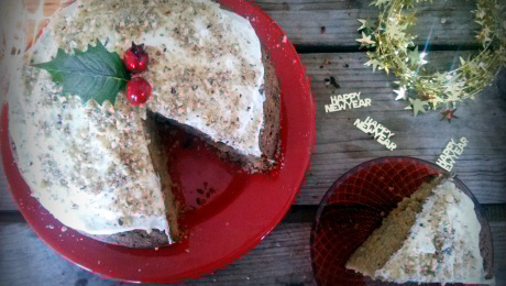 Mamatsita  Carrot cake/Vasilopita