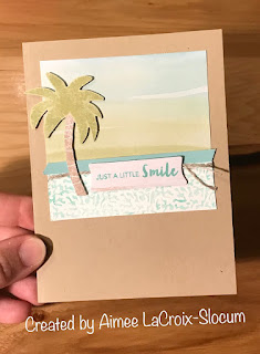 Alternative June 2019 A Little Smile Paper Pumpkin by Stampin' Up! Projects by Aimee La Croix-Slocum