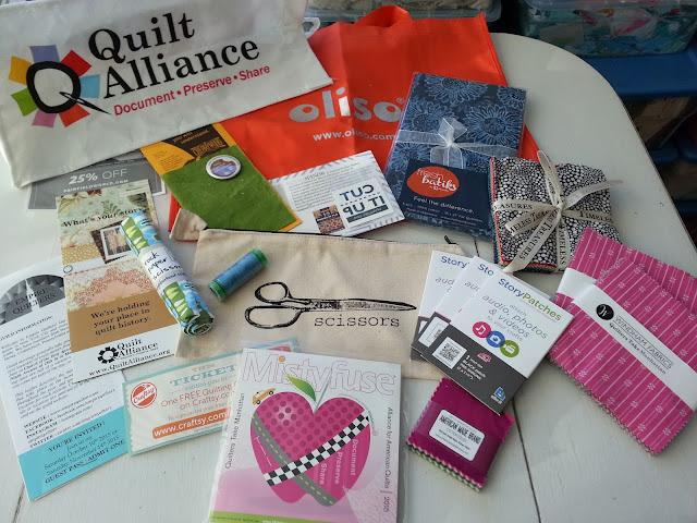 Quilters Take Manhattan Goody Bag