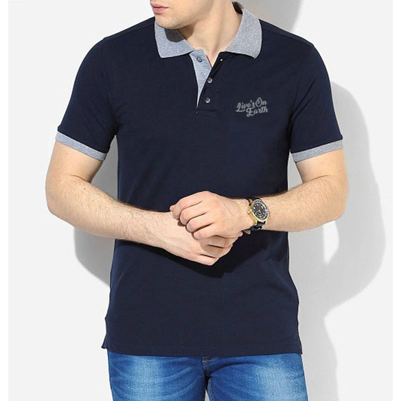 Polo Shirt Premium True Navy
