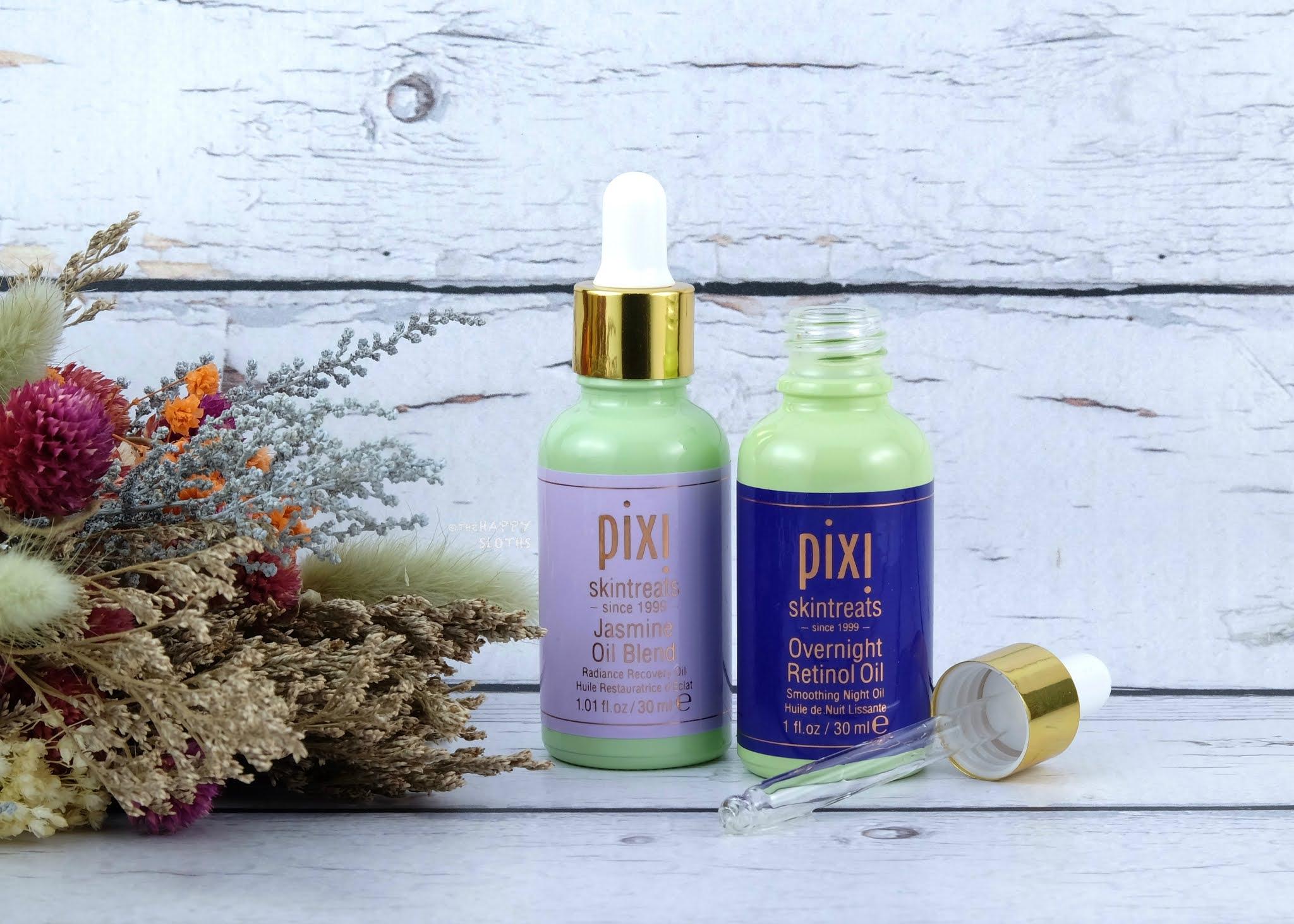 Pixi Beauty | Jasmine Oil Blend & Overnight Retinol Oil: Review
