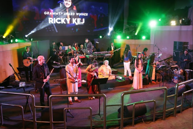'Music for the Planet' concert performed by Grammy® Winner 'Ricky Kej at UB City on Feb 24th, 2018