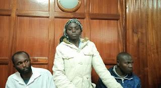 Dorcas Cheruto Wangila, who appeared before Magistrate Kennedy Cheruiyot. PHOTO | NMG