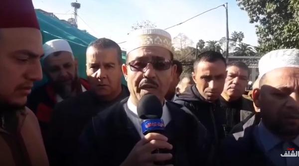 مشايخ الشلف يقيمون مجلس عزاء في وفاة قائد الأركان