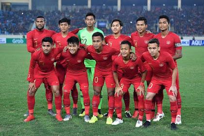 Hasil Skor Bola Pertandingan Laga Ujicoba Timnas Indonesia U-22 Vs Iran U-23 Berakhir Dengan Skor 2-1