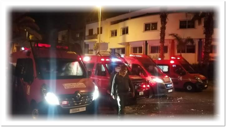 انفجار قنينات غاز يلحق خسائر بمصحة في الدار البيضاء دون تسجيل أية إصابات