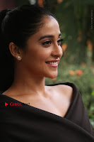 Actress Regina Candra Pos in Beautiful Black Short Dress at Saravanan Irukka Bayamaen Tamil Movie Press Meet  0006.jpg