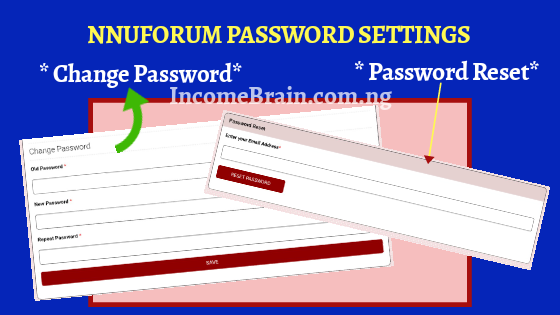 Change NNUForum v2 Password