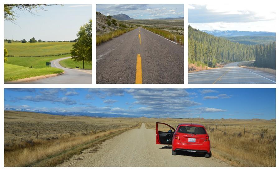 road trip USA déserts et vallées verdoyantes