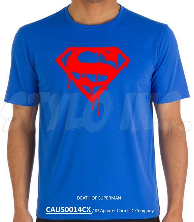 CAUS0014CX DEATH OF SUPERMAN