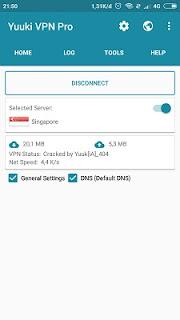 Cara Setting Yuuki VPN Pro Telkomsel Videomax