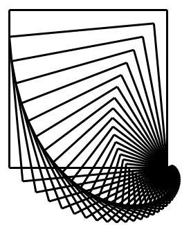 mathrecreation: square iteration series