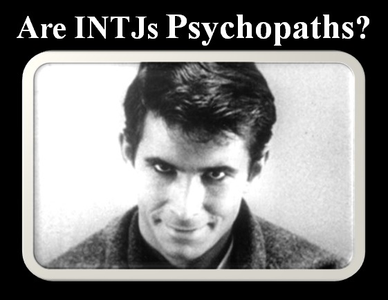 The Blog of Bryan C  Laesch: Are INTJs Psychopaths?