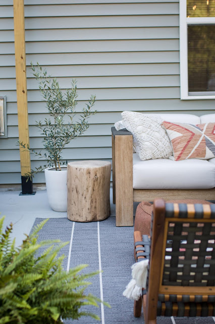 Modern and Stylish Patio on a Budget