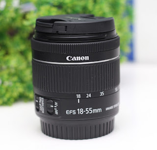 Canon 18-55mm IS STM ( seri baru )