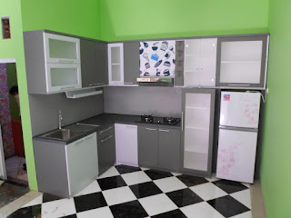 Jual Kitchen Set Minimalis Di Semarang + Furniture Semarang