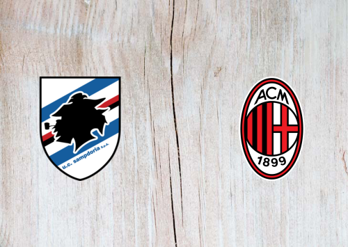 Sampdoria vs Milan -Highlights 29 July 2020