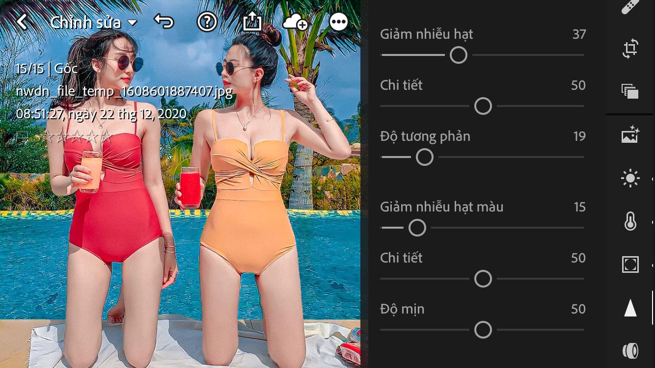 Chia sẻ công thức màu Cam Picnic Lightroom | App Chỉnh Ảnh