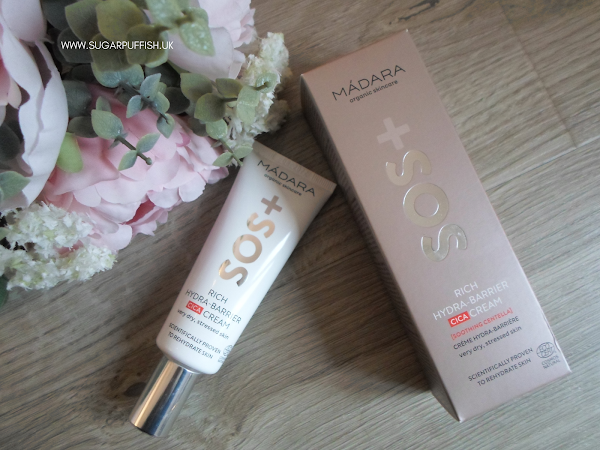 Review for Love Lula - Madara SOS Rich Hydra Barrier CICA Cream for very dry, stressed skin