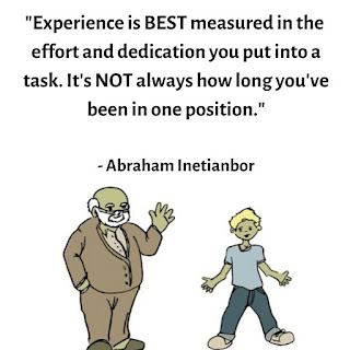 www.abrahaminetianbor.com how to measure experience