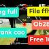 NEW FILE FFH4X FREE FIRE OB28 AUTO RANK CAO FIX LAG FULL VIP CHƠI TỬ CHIẾN HUYỀN THOẠI
