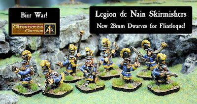 52525 Legion de Nain Light Troops released and the Bier War