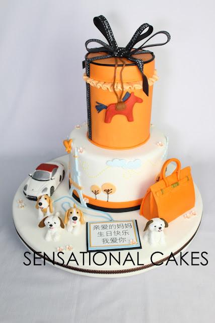 hermes bag 3d cake singapore